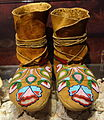 Nez Perce moccasins, 1890-1910 - Bata Shoe Museum - DSC00538.JPG