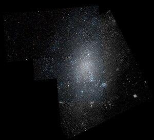 NGC 5204 - Image: Ngc 5204 hst 555 R814GB606