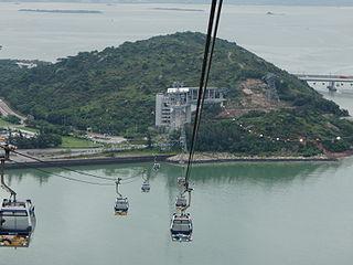 Ngong Ping 360 Hong Kong gondola lift