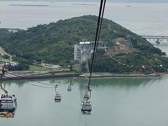 Ngong Ping 360 - Image: Ngong Ping 360 Returning to Tung Chung
