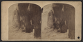 Niagara, Cave of the Winds in winter, beneath the American Falls, from Robert N. Dennis collection of stereoscopic views.png
