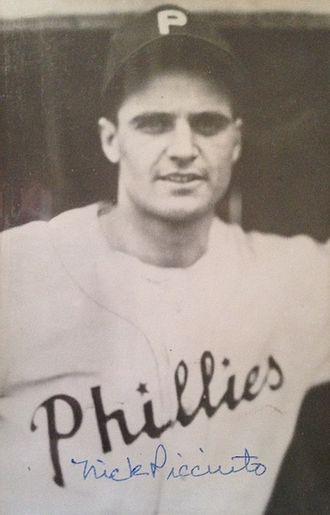 1945 Philadelphia Phillies season - Image: Nick Picciuto