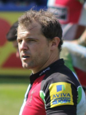 Nick Evans (rugby union) - Image: Nick Evans 2013 (cropped)