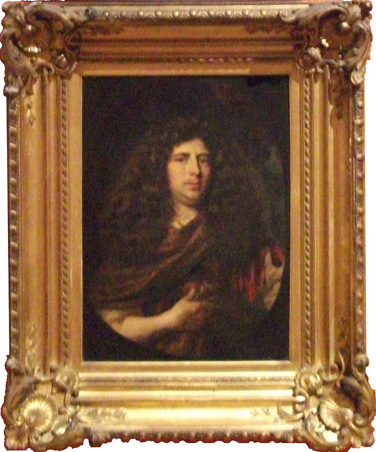 Portrait of an unknown man, dated 1678