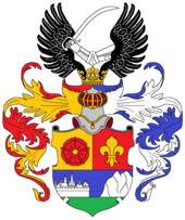 Das 1820 an Lenaus Großvater verliehene Wappen (Quelle: Wikimedia)
