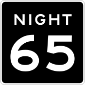 Night speed 65 sign.svg