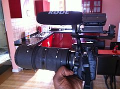 Nikon D7000 + 80-200mm Lens + Rode Video Microphone - Great Camera for a Mini Doc.jpg