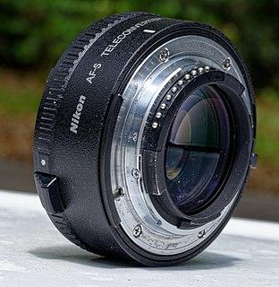 Nikon F-mount teleconverter