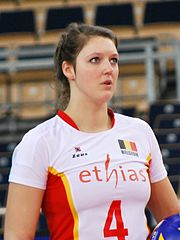 Nina Coolman - FIVB World Championship European Qualification Women Łódź January 2014.jpg