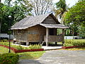 Nipa hut from Mabini shrine.JPG
