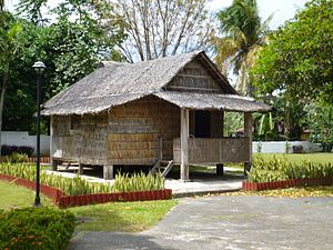 Architecture of the Philippines - ''Bahay Kubo'' was the one of the common houses of Filipinos from the classical period up to pre-modern era.