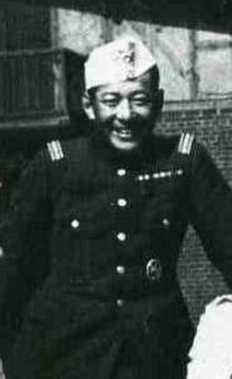 Takeichi Nishi - Nishi as young Army officer