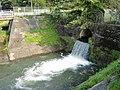 Nishihinobori reservoir spout.jpg