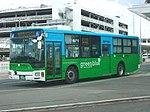 Nishitetsu bus Fukuoka Airport shuttle bus03.jpg