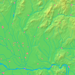Dubník - Image: Nitra Region background map