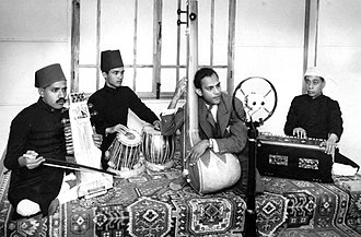 Deccan Radio (Nizam Radio 1932) - Performers in Opening seccion