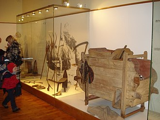 Ethnography - Part of the ethnographic collection of the Međimurje County Museum in Croatia