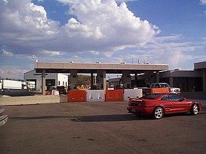 Nogales-Mariposa Port of Entry - Nogales-Mariposa Border Inspection Station, October 2000