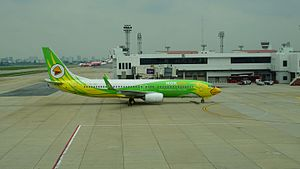 Nok Air - Nok Air Boeing 737-800 at Don Muang International Airport