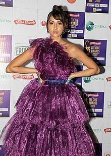 Nora Fatehi at Zee Cine Awards 2020.jpg