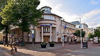 An office of Nordea bank in Mariehamn, Aland Nordea, Mariehamn, 2019 (01).jpg