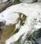 North American storm complex 5 Oct 2013 2015z.png