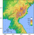 North Korea Topography.png