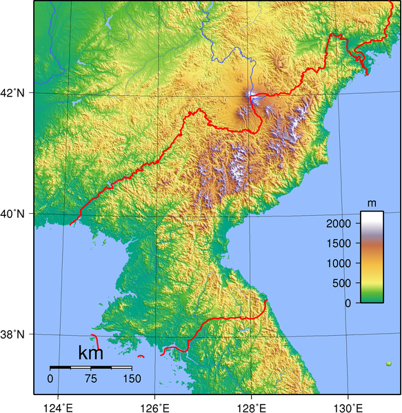 File:North Korea Topography.png