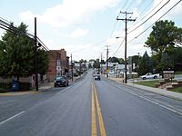 Northbound Main St, Hampstead, Maryland.jpg