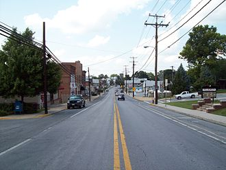 Maryland Route 30 - Northbound Business MD-30