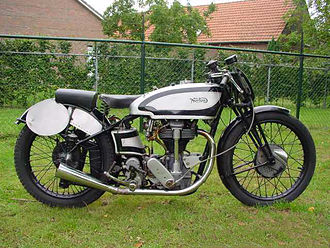 Norton Manx - 1937 Norton International - the Manx name didn't appear until after WW2