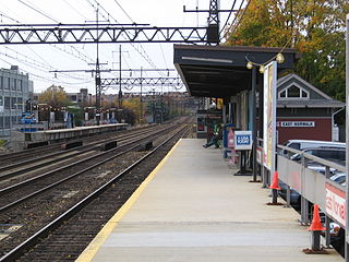 East Norwalk station Railway station in Norwalk, Connecticut