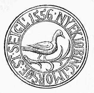 Nykøbing Mors - Seal of Nykøbing Mors (1556)