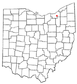 Location of Valley View in Ohio