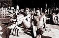 Ob letnem kopališču na Mariborskem otoku 1962.jpg
