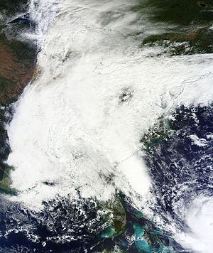 October 2015 North American storm complex - Image: October 3, 2015 US East Coast nor'easter