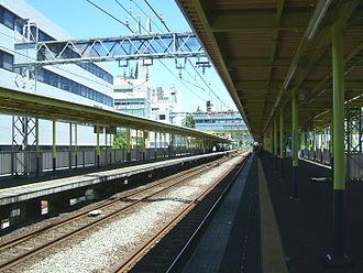 Chūō-Rinkan Station - Odakyu platforms
