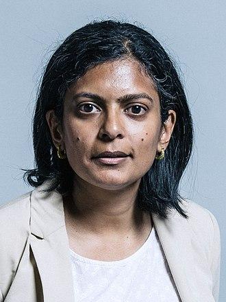 Rupa Huq - Image: Official portrait of Dr Rupa Huq crop 2
