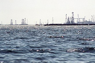 Petroleum industry in Azerbaijan - Offshore oil fields in Azerbaijan