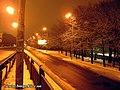 Okruzhnaja str. at night - panoramio.jpg