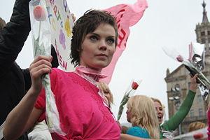 Oksana Shachko - Shachko on 8 March 2009