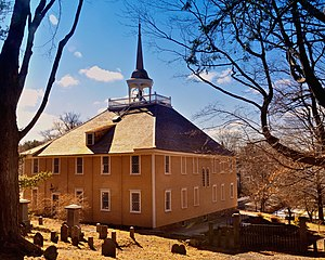 John Leavitt - Old Ship Church, 1681, Hingham, Massachusetts. John Leavitt, founding deacon.