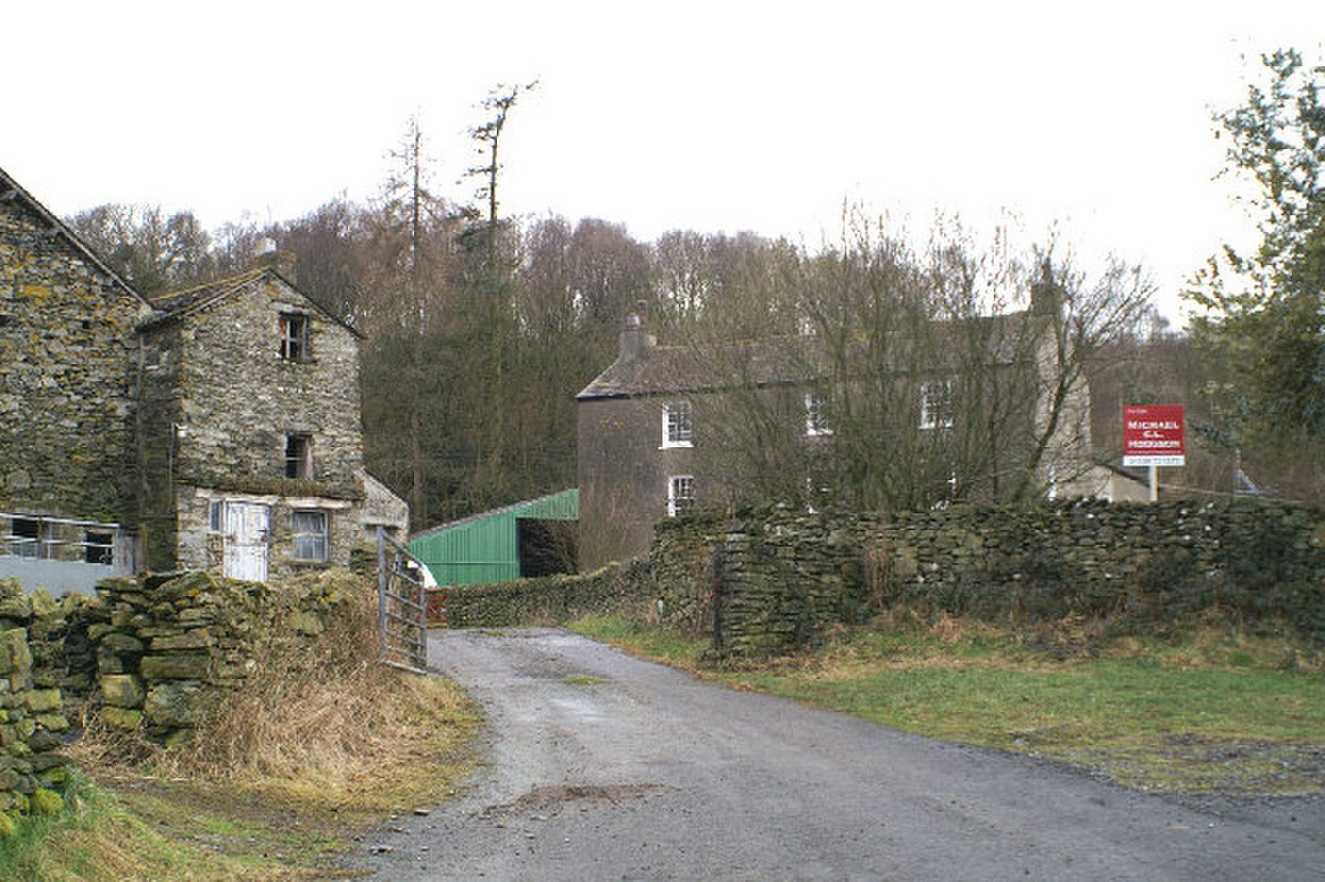 Old Hall Farm on the edge of Bouth - geograph.org.uk - 126991.jpg