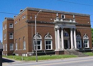 Old Jeffersonville Historic District - 20th-century Masonic temple