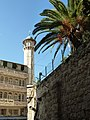 Old Jerusalem minaret on Via Dolorosa.jpg