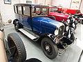 Old blue Citroën of the Association Lorraine des Amateurs dAutomobiles, pic2.JPG