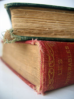 Old book - Les Miserables