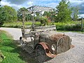 Old fashioned car sculpture (6164486184).jpg