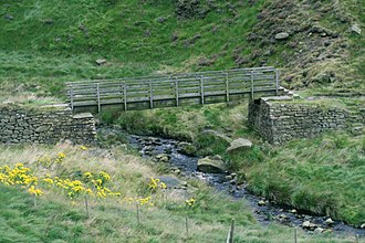 Chew Valley, Greater Manchester - Image: Oldham Way Footpath