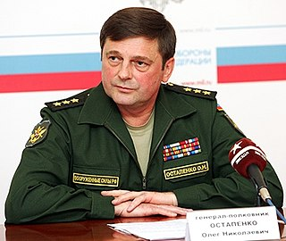 Russian general and former Space Forces commander